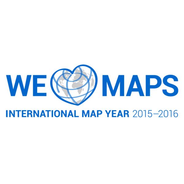 Logo of the International Map Year 2015–2016